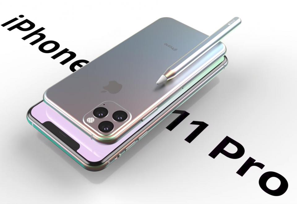 広範なリークに基づいたApple iPhone 11 Proのレンダリング